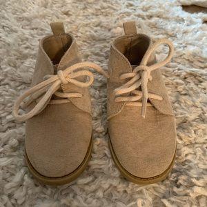 Old Navy Tan Dress Shoes - Toddler Boy Size 5